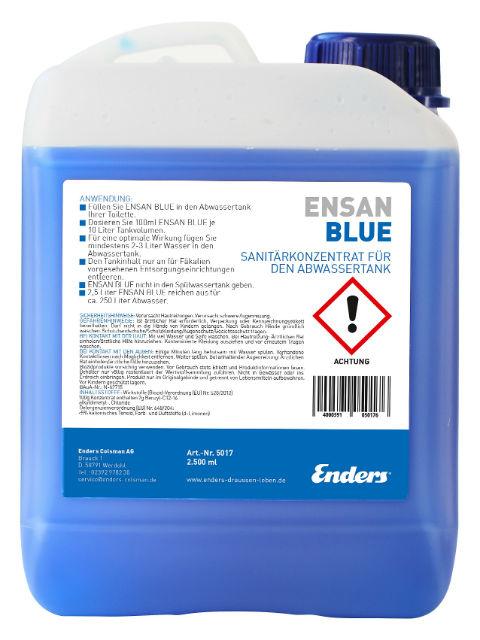 Санитарен концентрат ENSAN BLUE 2.5 литра