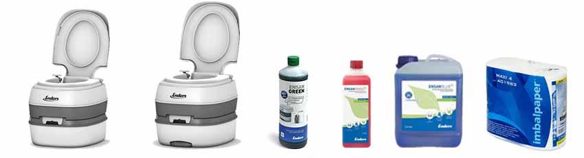 Химически тоалетни и концентрати