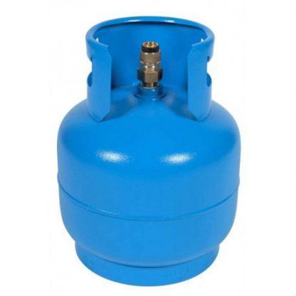 Газова бутилка с ъглов кран 10 литра