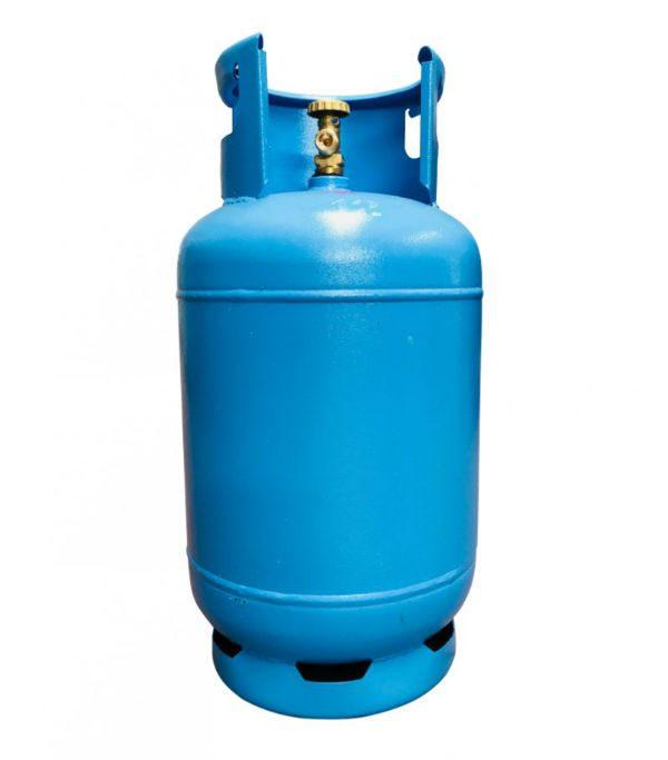 Газова бутилка с ъглов кран 27 литра