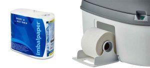 Химическа тоалетна Supreme поставка за тоалетна хартия